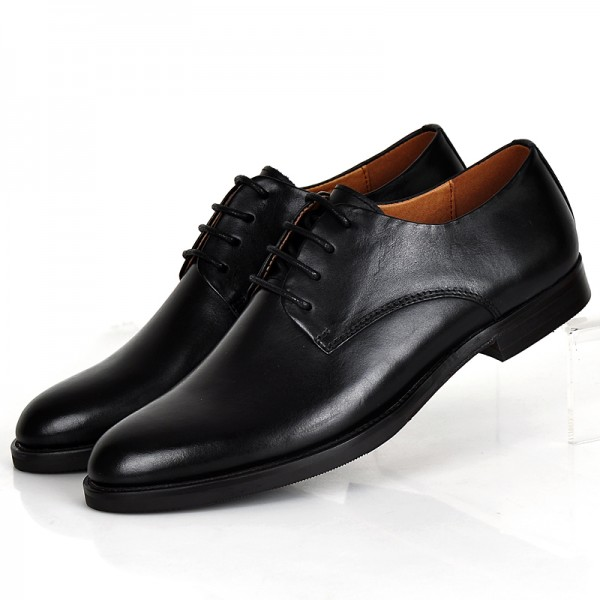 Black Womens Oxfords Lace Up Flats Vintage Formal Dress Shoes For