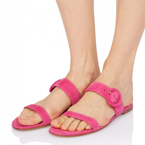 On Sale Rosy Suede Women's Slide Sandals image 1