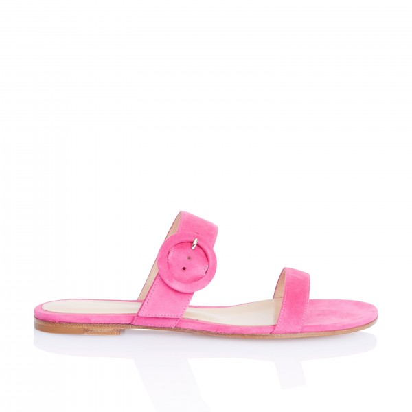 On Sale Rosy Suede Women's Slide Sandals image 2