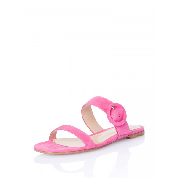 On Sale Rosy Suede Women's Slide Sandals image 3