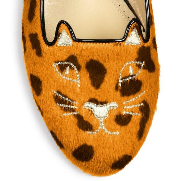 Leopard Print Flats Suede Cute Comfortable Shoes image 3