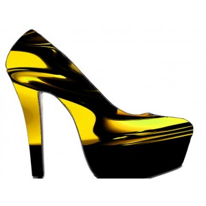 Marblelious woman high heel pump
