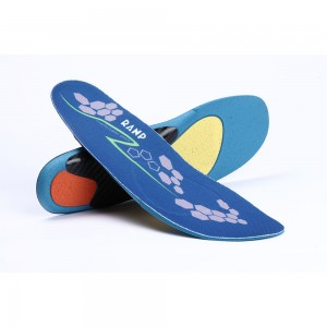 Blue and Orange Comfortable Insoles