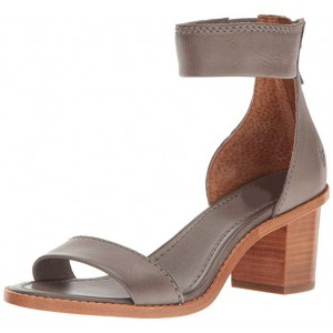 Custom Made Ankle Strap Block Heel Sandals