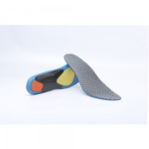 Grey and Blue Honeycomb Shaped Comfortable Insoles