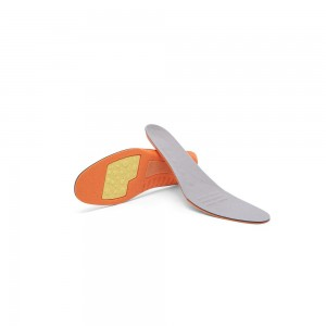 Orange Insoles for Running and Walking