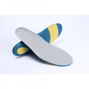 White and Blue Comfortable Shoes Insoles