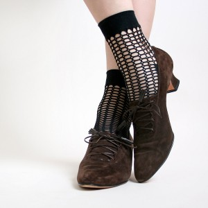 Brown Lace up Boots Vintage Suede Witch Ankle Boots for Halloween