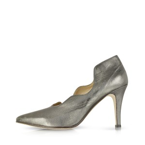 Women's Grey Pointed Toe Stiletto Heels Formal Evening Pumps Shoes