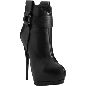Black Platform Boots Stiletto Heels High Heel Shoes Fashion Boots