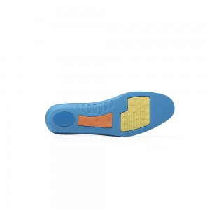 Blue Insoles for Running and Walking