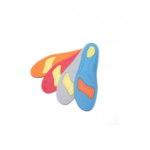 Navy and Orange Comfortable Insoles
