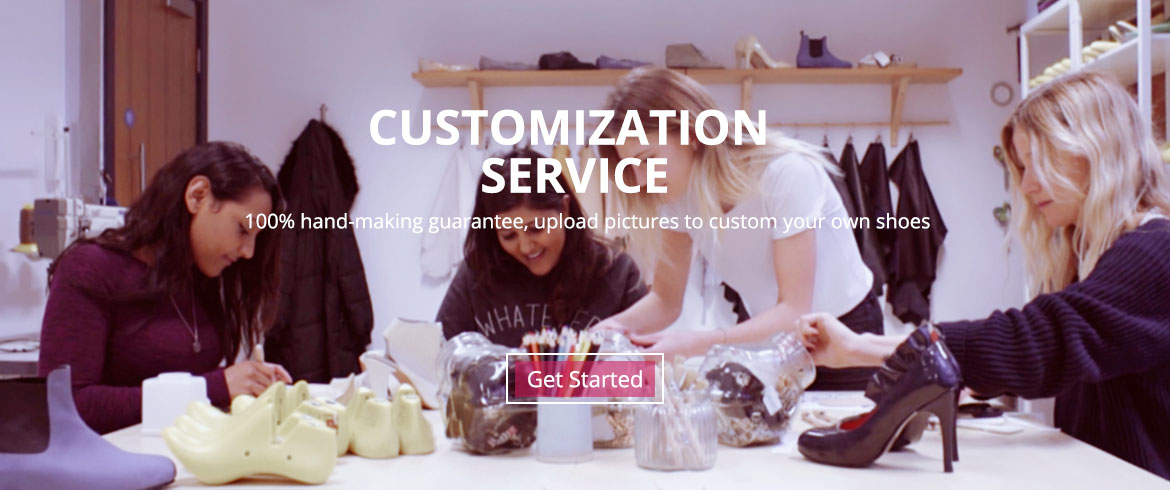 shoes customize service